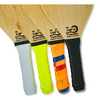 Zebrano Wood Frescobol Beach Paddle Game Kit