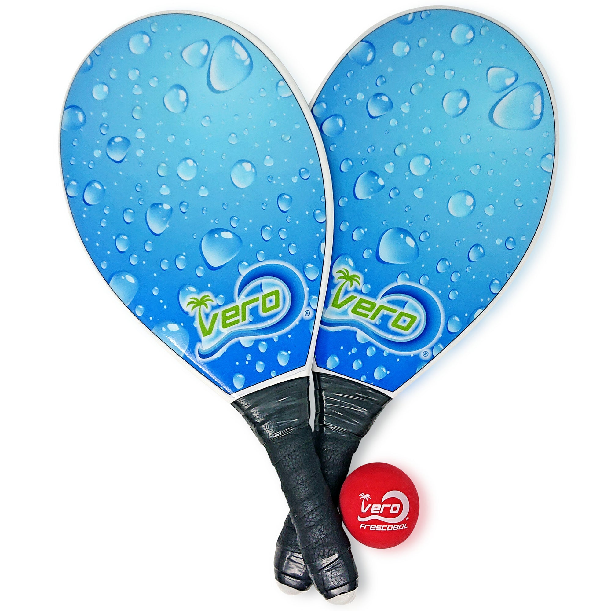 Frescobol Ocean Wave Beach Paddle Kit