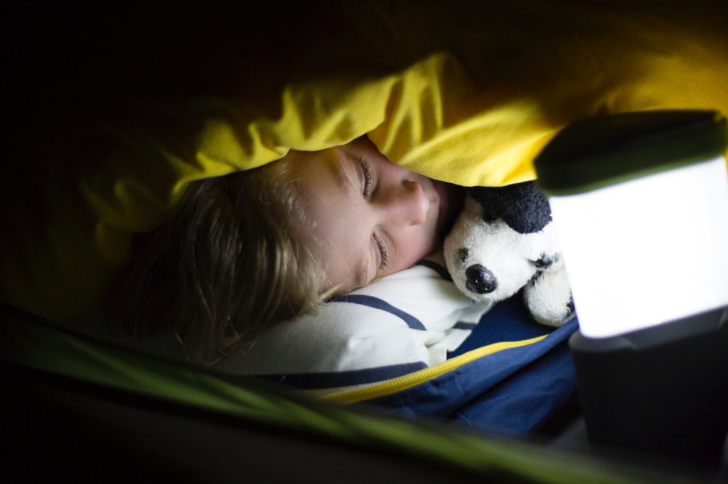 Camping with Kids - Sleep Tips...