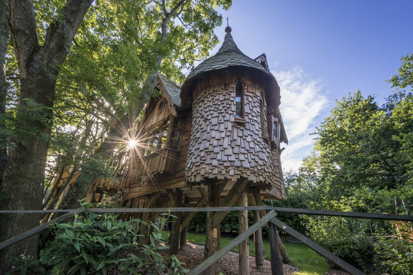 'Higgledy' Treehouse at Blackberry Wood Campsite