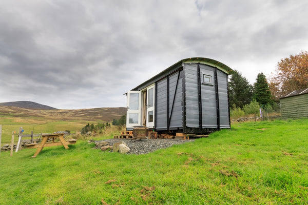 Shepherd's Hut at Ecocamp Glenshee