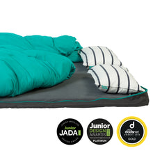 Boosted Double Bundle - two boosted Bundle Beds plus a fitted double sheet