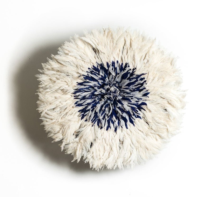 Iniva Juju Hat Bicolor 80 cm White and Blue Big