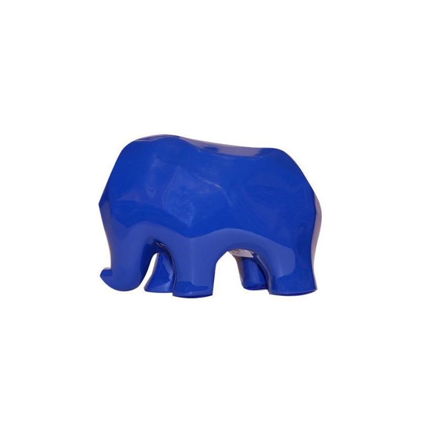 Nassara Design Elephant Assala Resin Blue