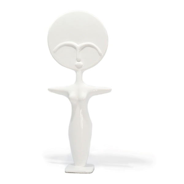 Nassara Design Ashanti Doll Kim Resin White