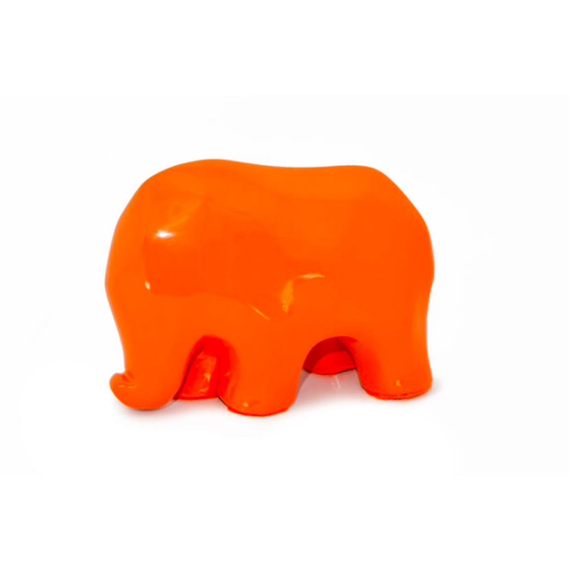 Nassara Design Elephant Assala Resin Orange