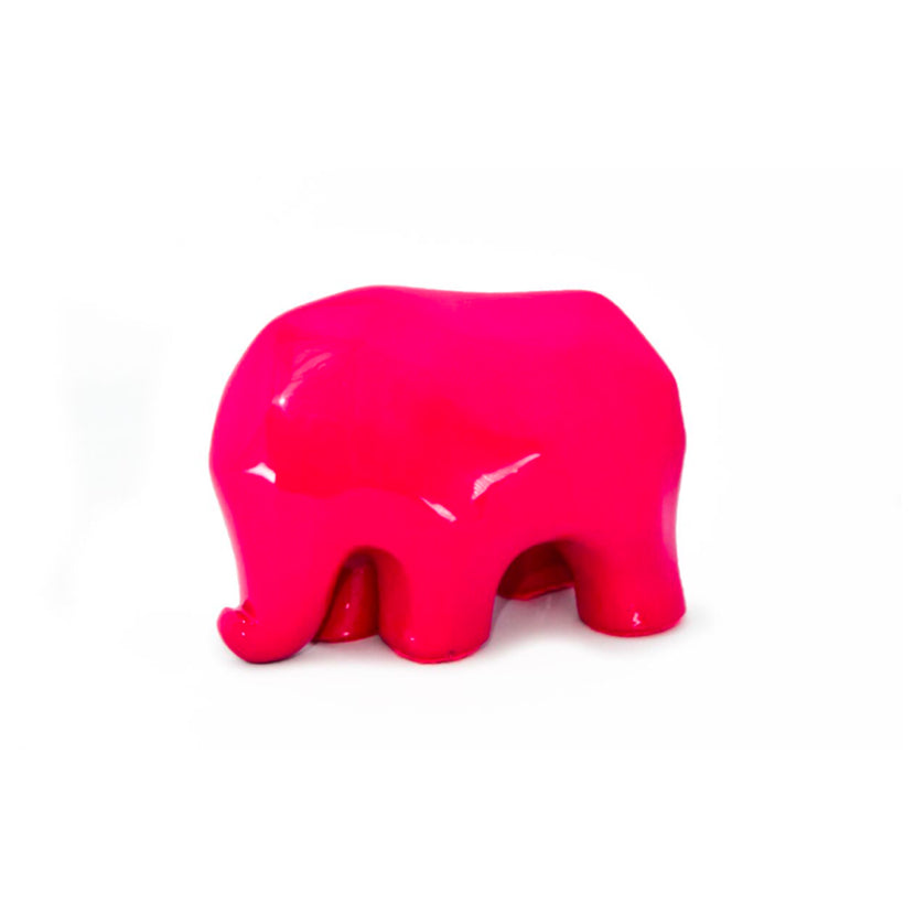 Nassara Design Elephant Assala Resin Pink