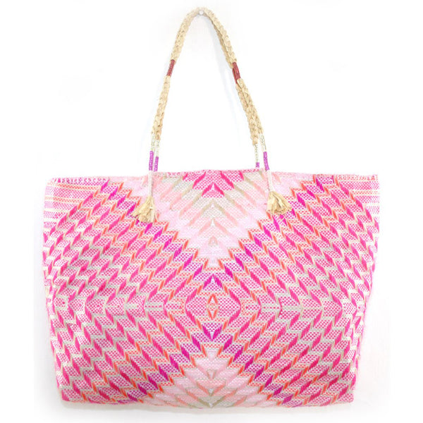 Enshallah Shopping Bag Pink