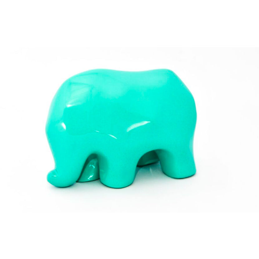 Nassara Design Elephant Assala Resin Turquoise