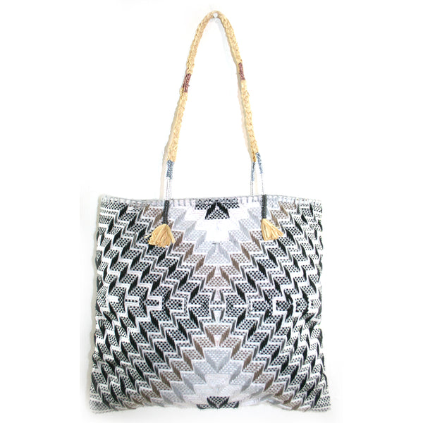 Enshallah Shopping Bag Grey Tones