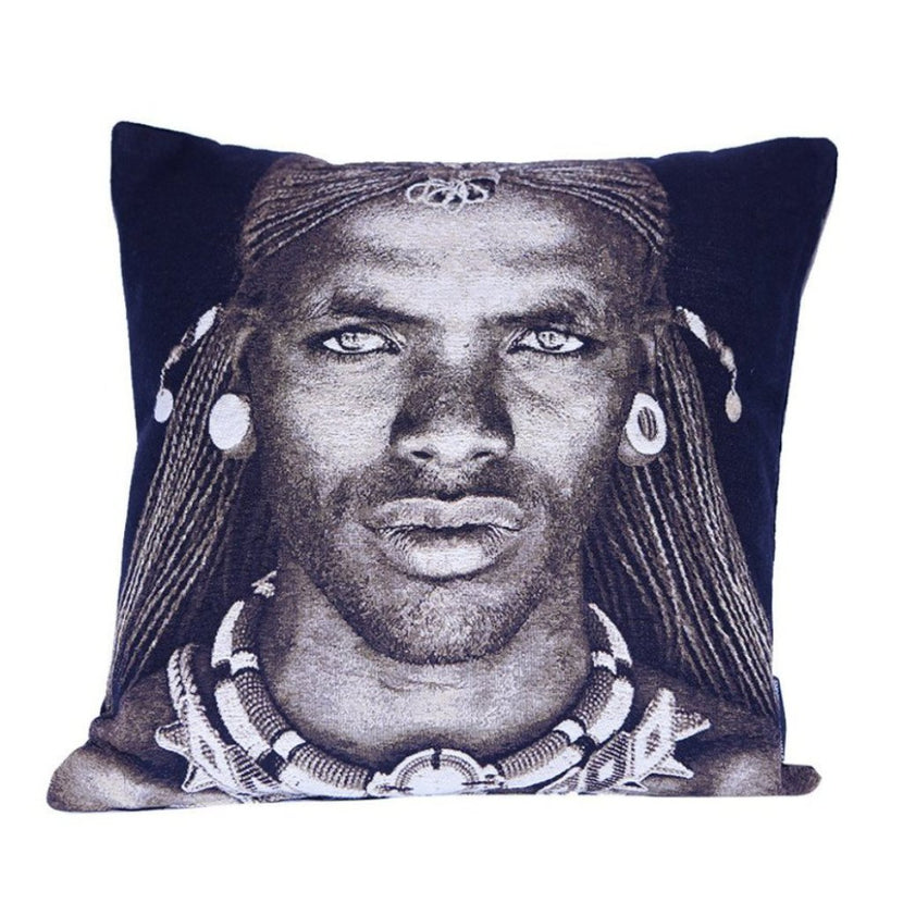 FS Home Cover Pillow Samburu Warrior