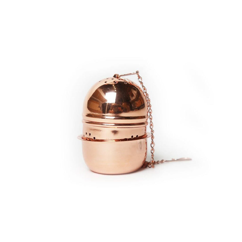 Yswara Copper Oval Tea Infuser