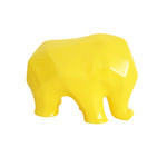 Nassara Design Elephant Assala Resin Yellow