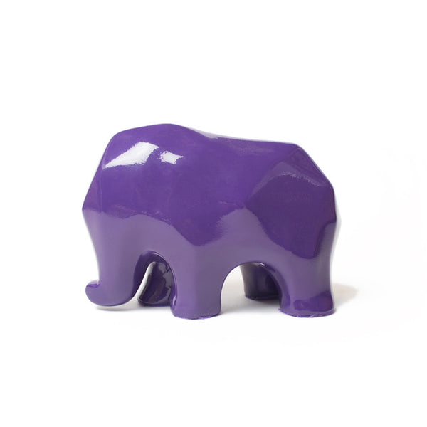 Nassara Design Elephant Assala Resin Purple