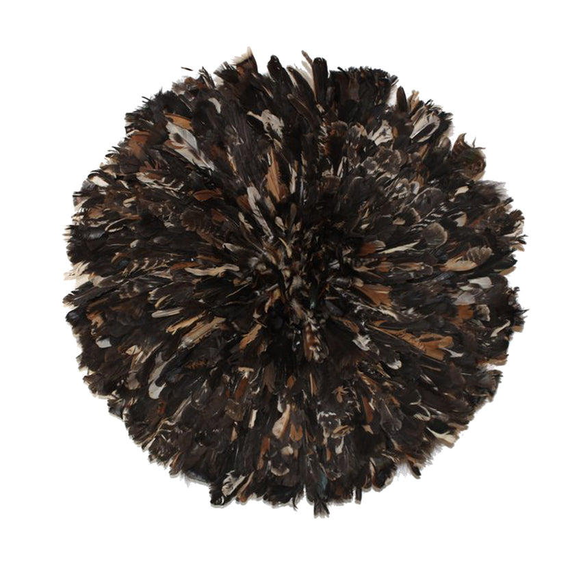 Iniva Juju Hat 80cm Bicolor Brown and Black Big