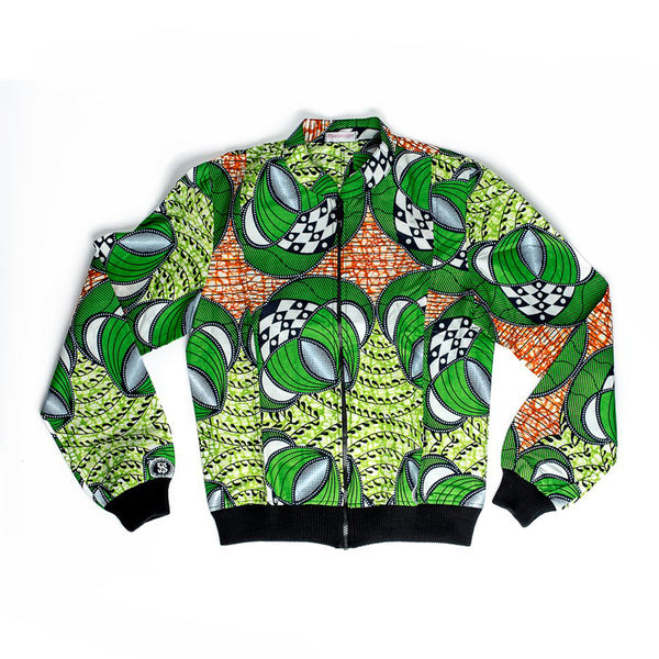 Margouillat Couture Jacket Bombwax Green Orange