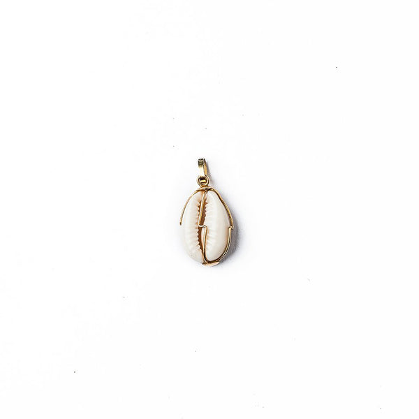 Iniva Jewelry Pendant Cauris Shelf and Gold