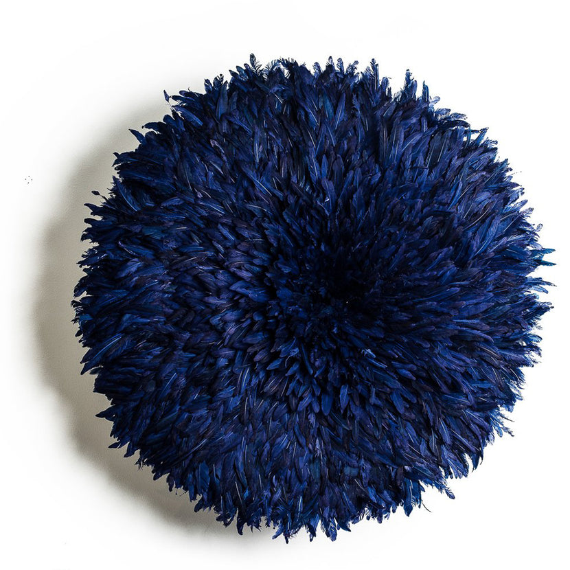 Iniva Juju Hat 50cm Unicolor Navy Blue Small