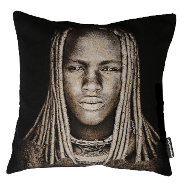 FS Home Cover Pillow African Boy