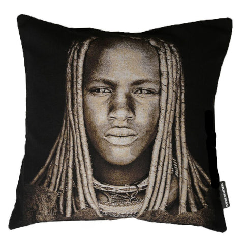 FS Home African Boy Cushion Cover