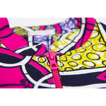 Margouillat Couture Jacket Bombwax Yellow Purple Pink