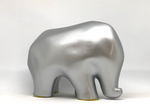 Nassara Design Elephant Assala Resin Silver