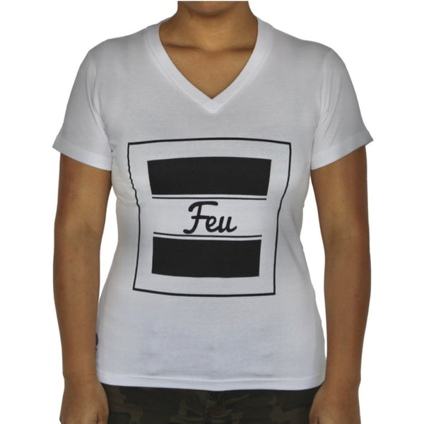FEU Women V-Neck T-Shirt