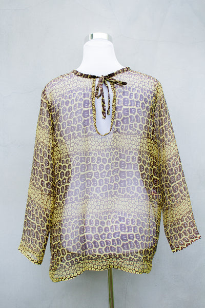 SBG COLLECTION Silk Blouse