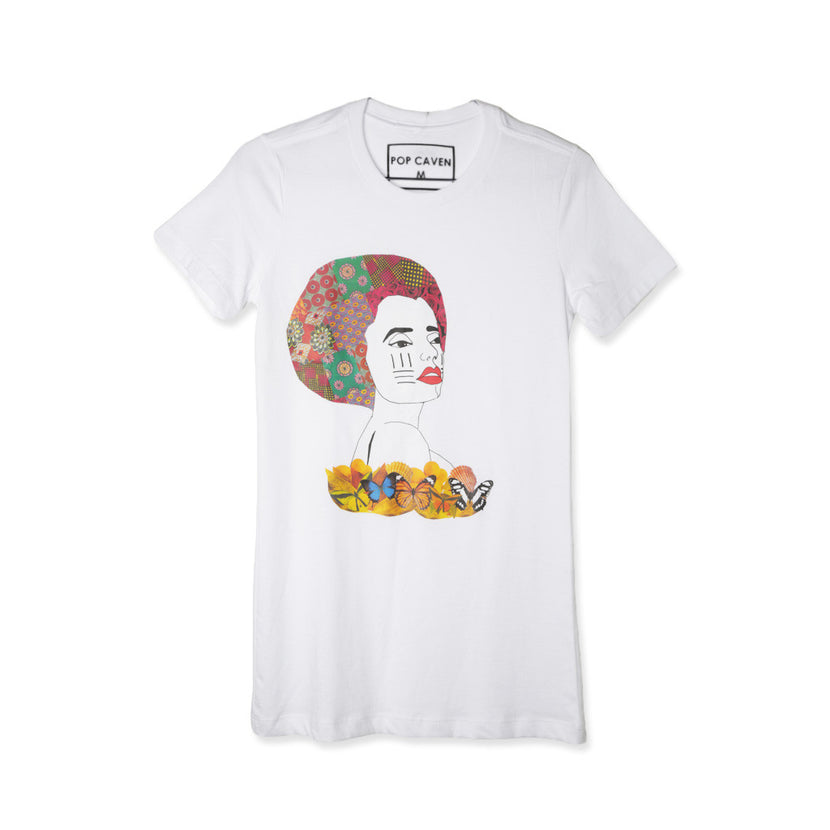 Pop Caven Wax Print Beauty Women T-shirt