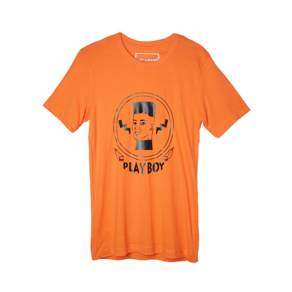 Pop Caven T-Shirt Playboy Orange