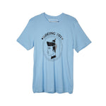 Pop Caven T-Shirt Boing 707 Blue