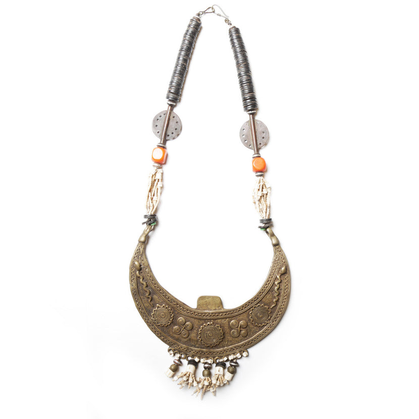 Iniva Traditional Bronze Necklace