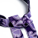Margouillat Couture Belt Grey Black & White Wax Purple