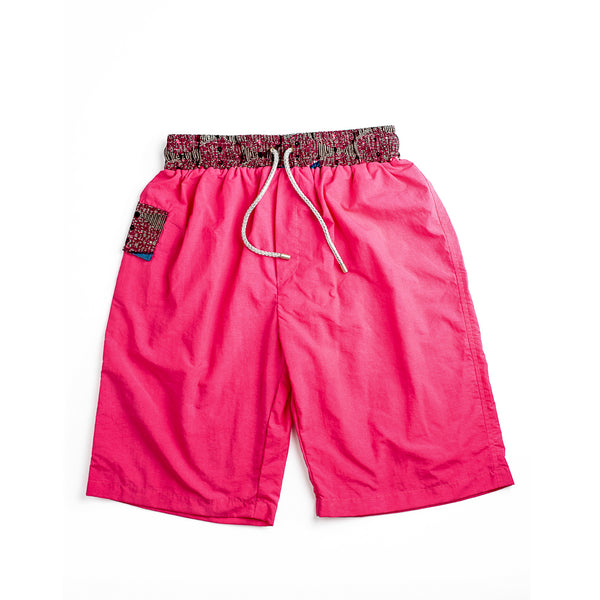 Margouillat Couture Swimwear Boxer long Marbella Pink