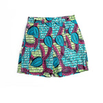 Margouillat Couture Short Woman Zippy Pink Turquoise