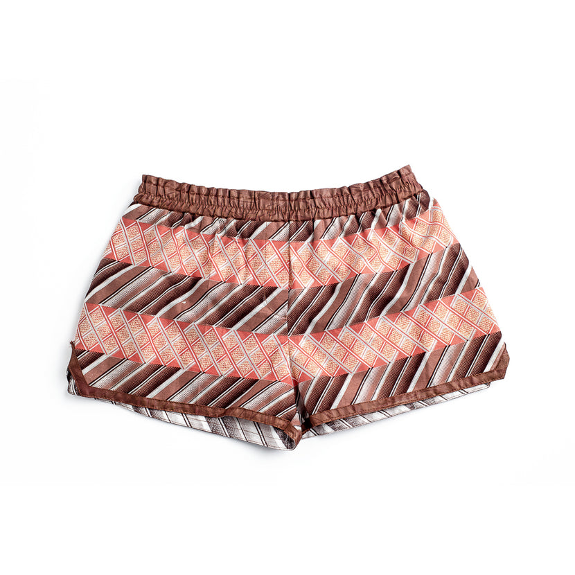 Margouillat Couture Short Woman Brown Coral