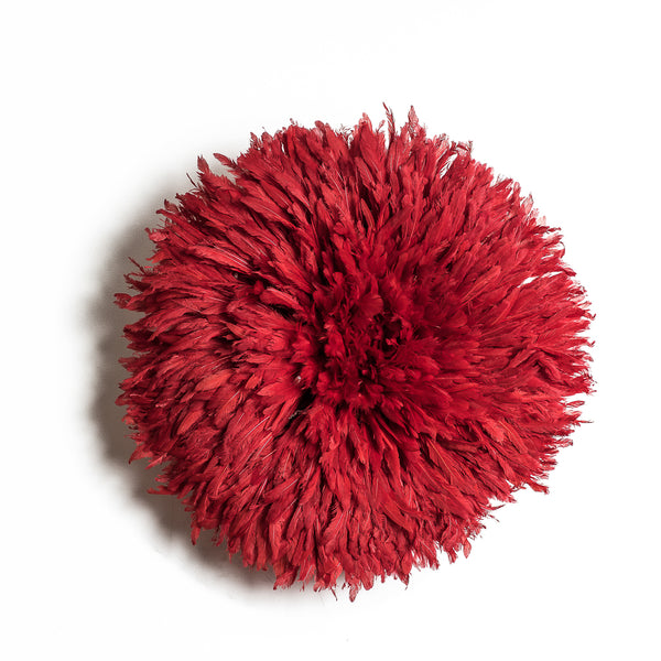 Iniva Juju Hat 50cm Unicolor Red Small