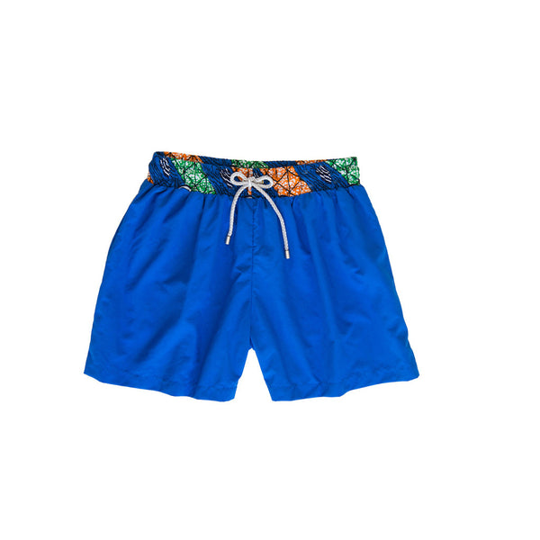 Margouillat Couture Boxer Short Marbella Blue