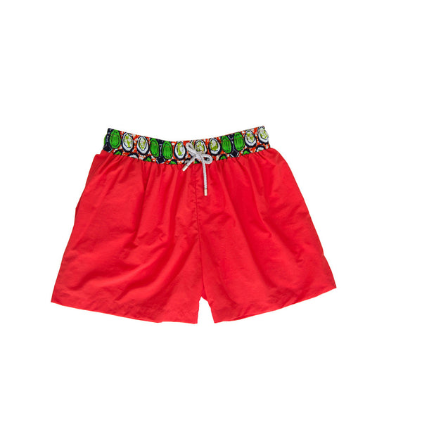 Margouillat Couture Boxer short Marbella Orange