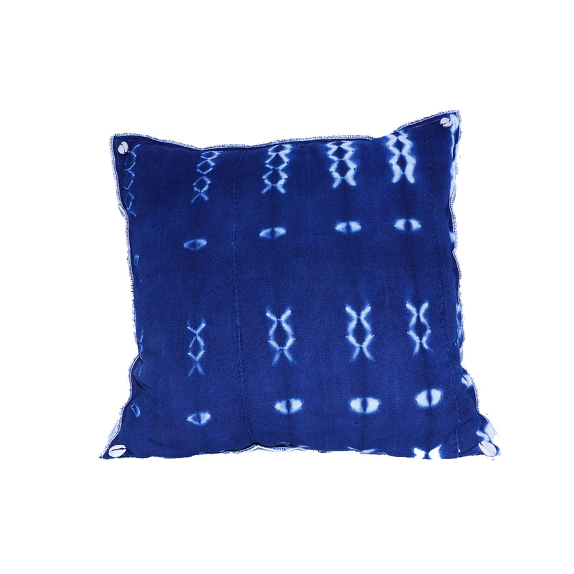 Nassara Design Cover Pillow Indigo Blue