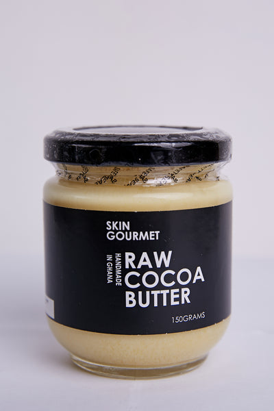 SKIN GOURMET Raw & Unrefined Cocoa Butter (150 g)