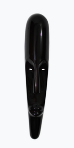 Nassara Design African Mask Fangio Lined with Black Leather