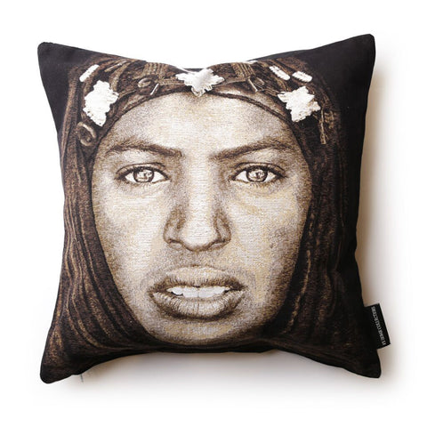 Cushion Cover Tuareg Woman