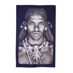 FS Home Wall Hanging  Samburu Warrior Black