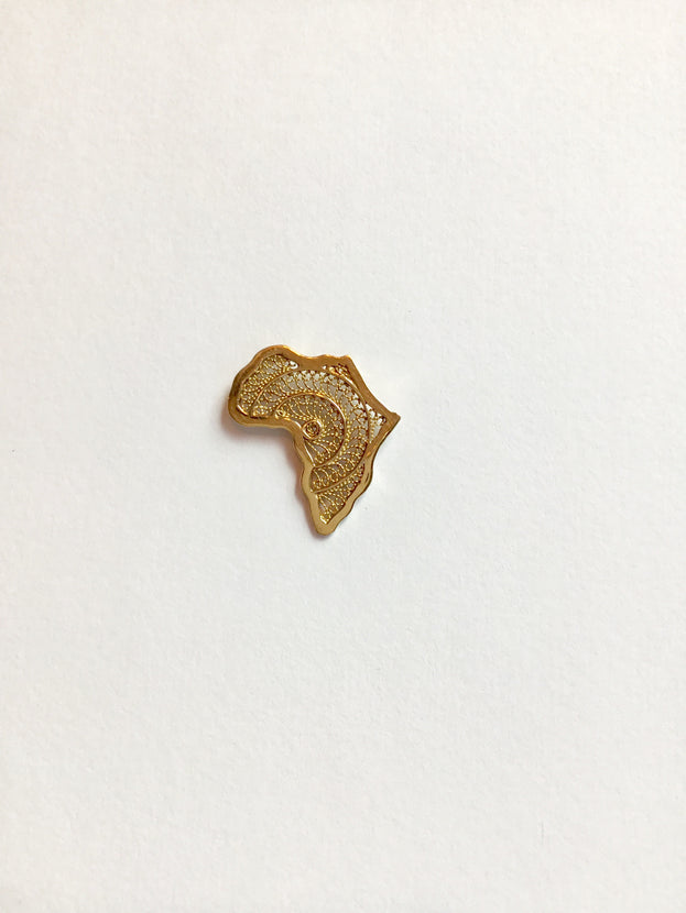SBG Iniva Jewelry Gold Africa Filigrane Small
