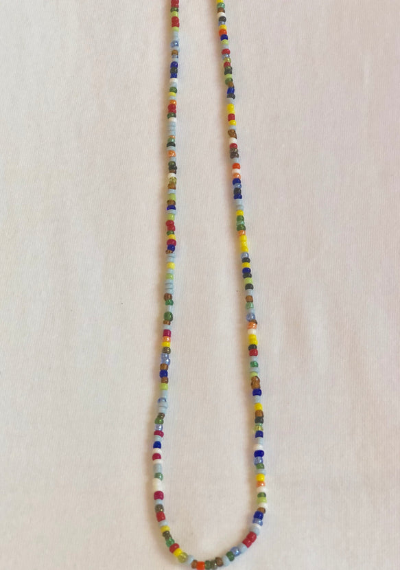 ARTISANS Iniva Long Necklace Multicolor from Ghana