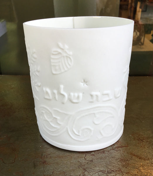 Lisa Firer T-Light Holder Sacred Object - Hebrew