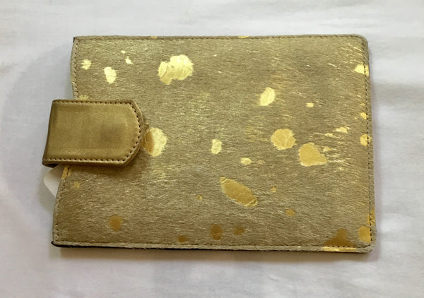 INIVA iPad Cover Gold Cow Skin