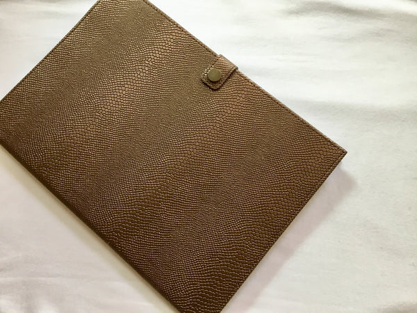 INIVA Notebook vintage leather