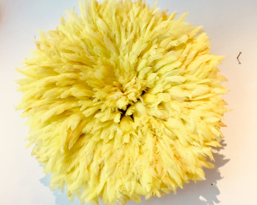 Iniva Juju Hat 50cm Unicolor Yellow Small